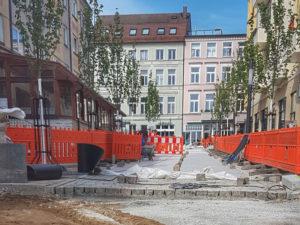 Baustelle Grosser Moor Ansicht 3 Mai 2018