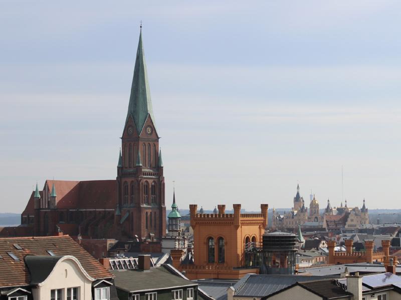 Der Schweriner Dom - Herzstzück und Mittelpunkt der historischen Altstadt
