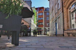 Auf den Straßen und Gassen der historischen Altstadt Schwerins lässte es sich hervorragend Bummeln und Genießen.