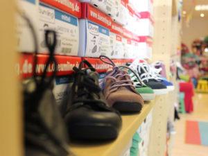 Im Fachhandel für Kinderschuhe von Steffi Saeland in der Puschkinstraße 61-65 bekommt jeder Kinderfuß den passenden Schuh.