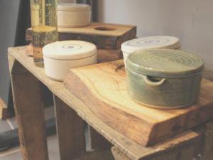 Im Werk.Stadt.Laden. kann man hochwertige Produkte kaufen und damit die Arbeit der Dreescher Werkstätten unterstützen.