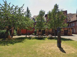 Garten Schleswig-Holstein-Haus