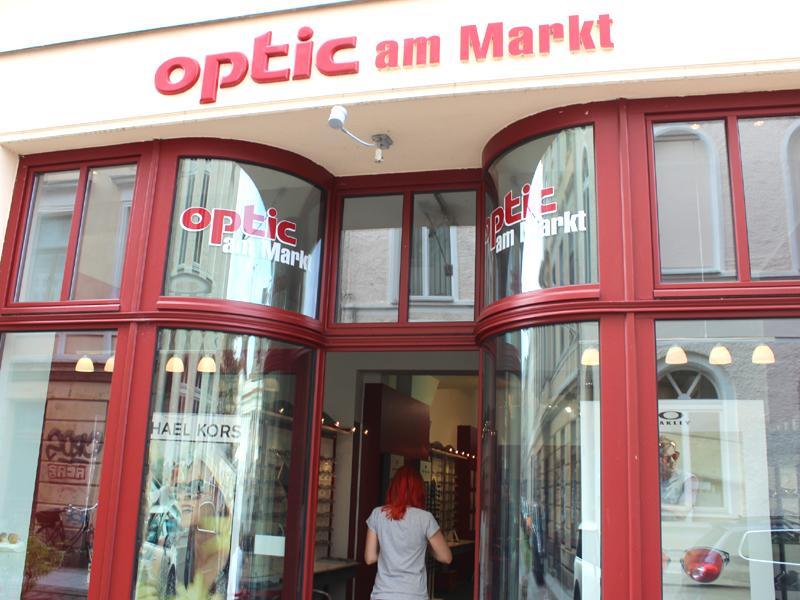 Optic am Markt hat sich jenseits der großen Ketten in Schwerin einen Namen gemacht.