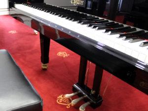 In eleganter Atmosphäre bietet das Pianohaus Kunze in Schwerin die Möglichkeit an, ein Traumpiano zu finden. Alle Instrumente können ausprobiert werden.